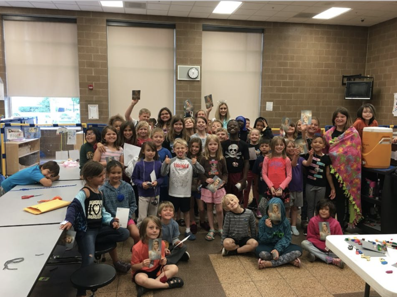 I shared my Hearts for Hope presentations with the YMCA summer group at Jefferson Elementary school! We discussed The Peyton Heart Project and made hearts.