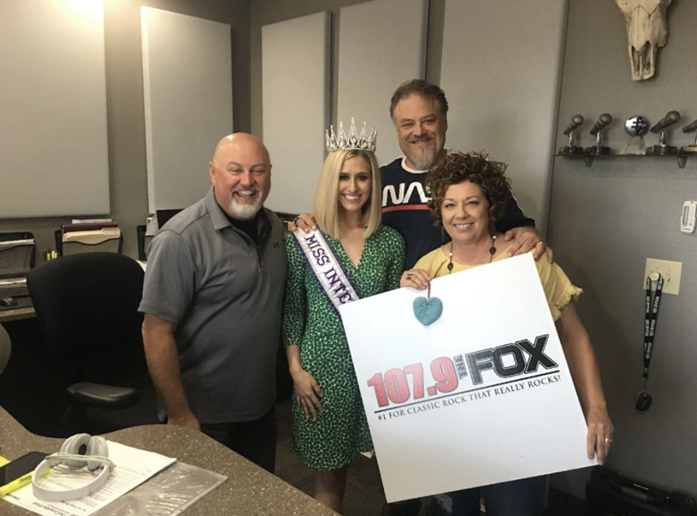 Radio Interview on 107.9 The Fox during World Suicide Prevention Month.